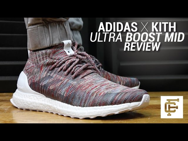 ADIDAS X KITH ULTRA BOOST MID REVIEW