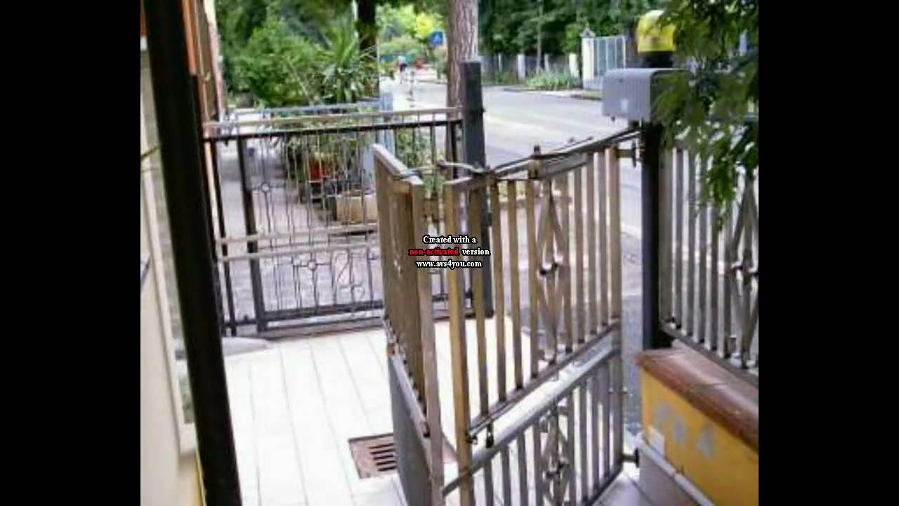 Cancello apertura e chiusura youtube for Cancello in legno fai da te