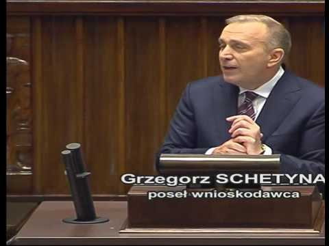 Wystąpienie w Sejmie Grzegorza Schetyny 07.04.2017