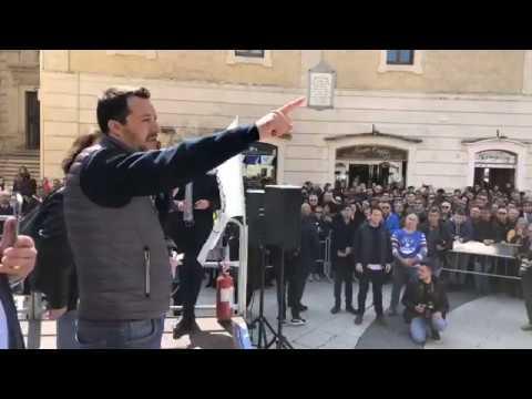 MATTEO SALVINI in diretta da MATERA (22.03.2019)
