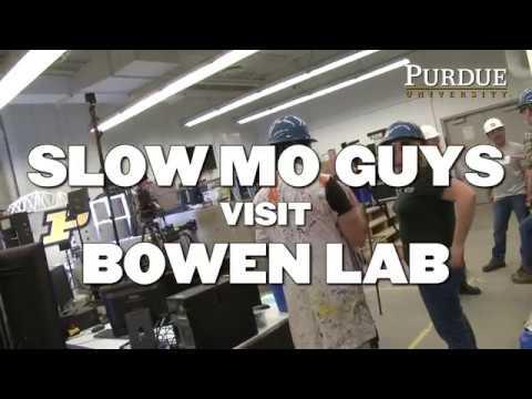 Behind the Scenes: Slow Mo Guys at Bowen Lab