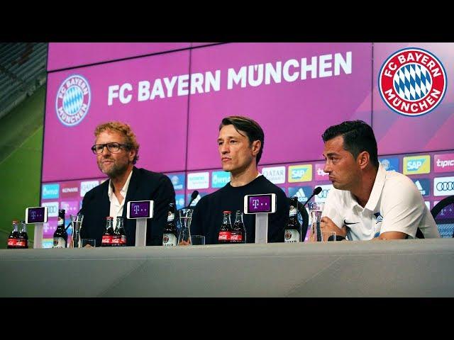 Punkteteilung, Berlin, Coutinho   Niko Kovac nach dem Bundesliga-Auftakt   FC Bayern - Hertha 2:2