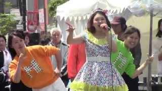 マーブルちゃんは可愛い女の子。青森市昭和通り商店街の初アイドルです....