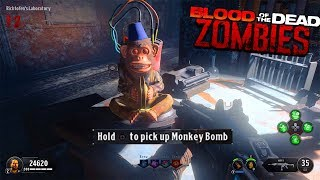 BLOOD OF THE DEAD - FREE MONKEY BOMBS EASTER EGG TUTORIAL! (Black Ops 4 Zombies Easter Egg Guide)