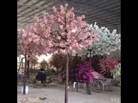 DIY for Artificial cherry blossom trees arch wedding decoration