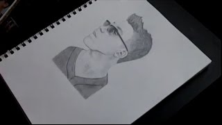 Fast Motion Drawing of Matthew Espinosa