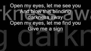 The rasmus - open my eyes (acoustic with lyrics)