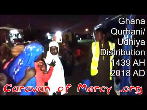 Udhiya/ Qurbani distribution in Ghana