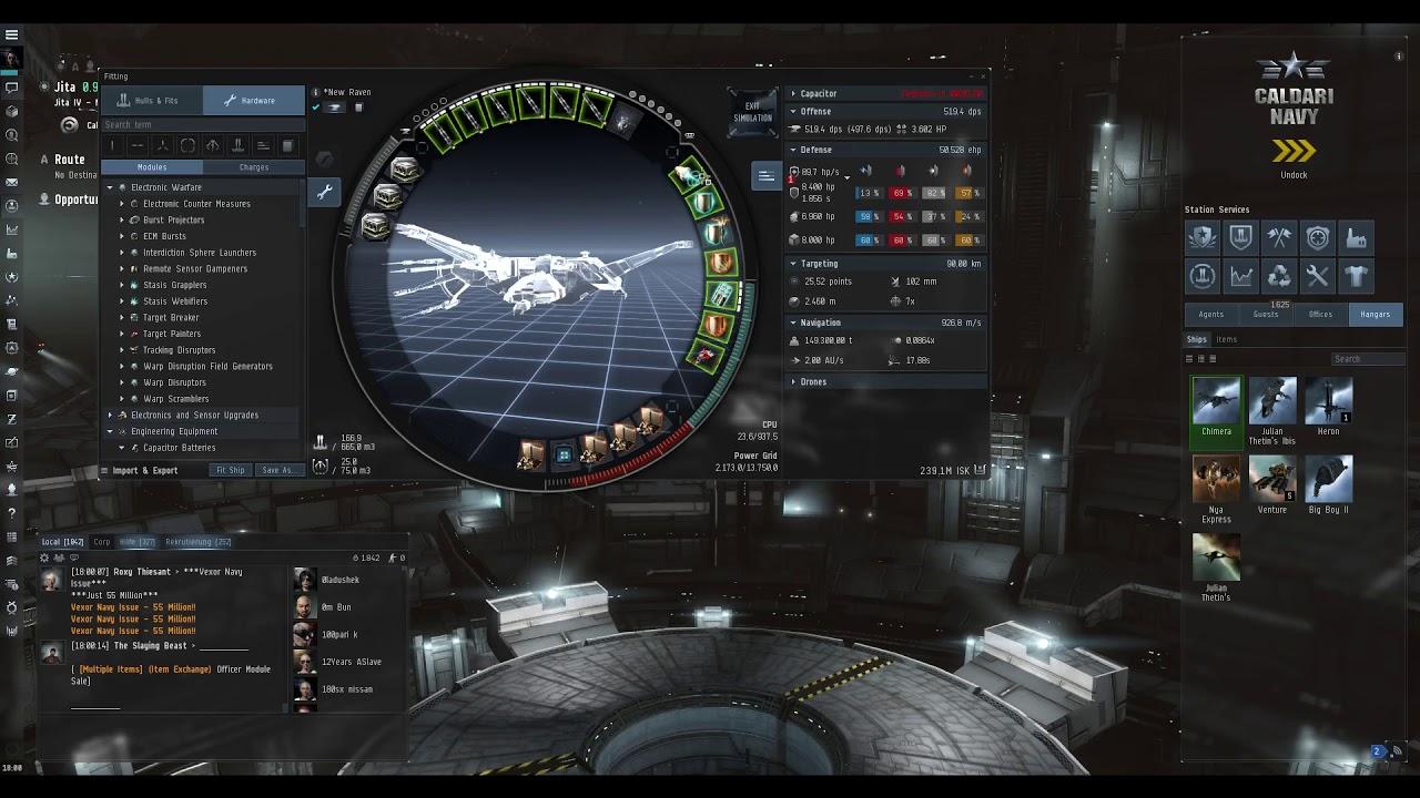 Raven navy issue lvl 4 mission runner
