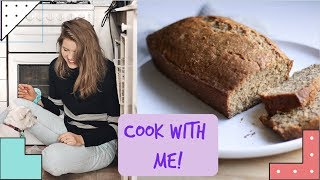 BANANA BREAD RECIPE || COOK WITH ME || NATURALLY EILEEN