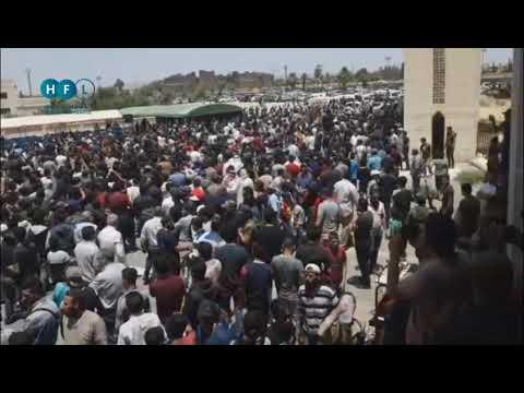 مظاهرات حاشدة في درعا تنادي باسقاط النظام ورحيل بشار الاسد