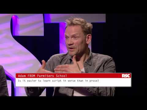 Love's Labour's Lost Schools' Broadcast Q&A  Royal Shakespeare Company
