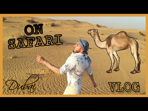 Για σαφάρι μέσα στη χάρη (Dubai vlog) | Tsede The Real