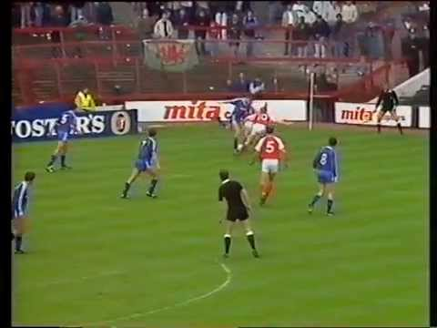 Mercantile Credit Centenary Trophy Final-Arsenal FC v Manchester United FC-9th October 1988.(Part 1)