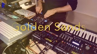 Golden Sands - Techno Live Set with impressions from Berlin (Zug der Liebe)