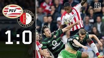 Enges Spitzenspiel in den Niederlanden: Eindhoven - Feyenoord 1:0 | Highlights | Eredivisie | DAZN