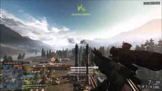 Battlefield 4 | Amazing Sniper Shot! | [Lewis W/ Bradley]