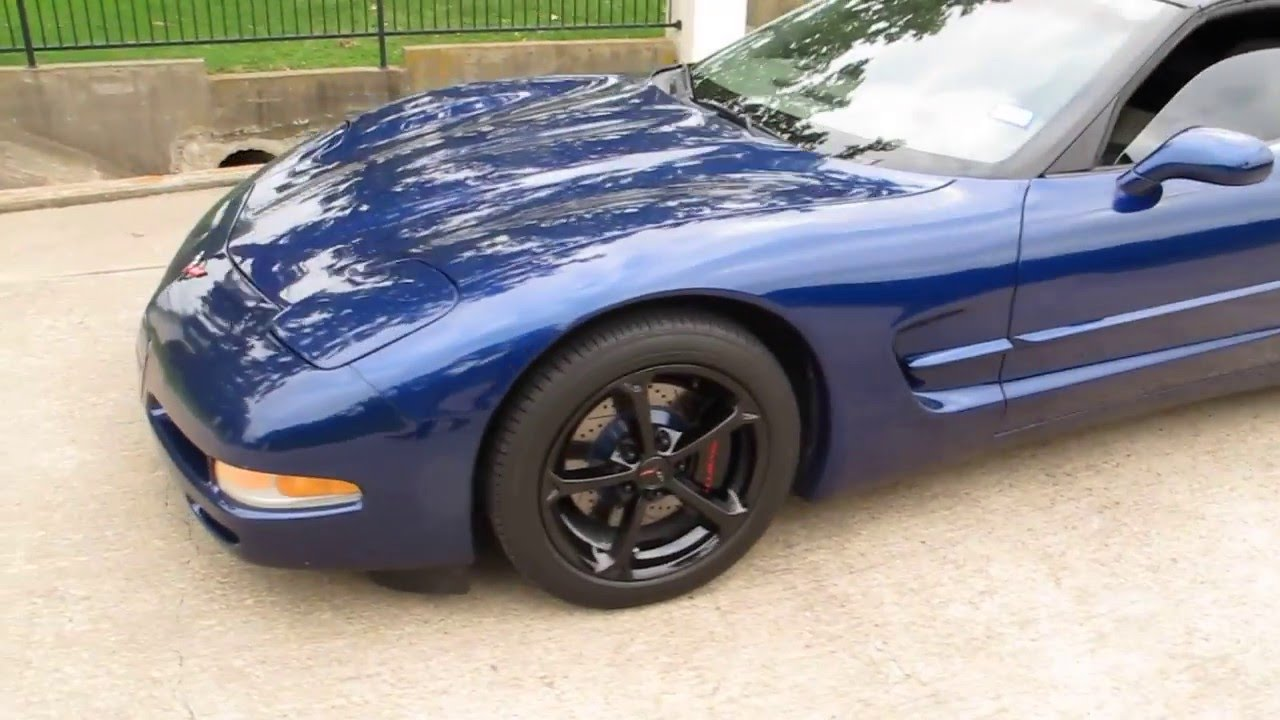 2004 Corvette Coupe, Six Speed, LS Motor, Gran Sport Wheels, New Run Flats