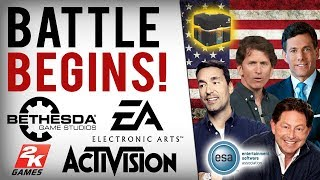 EA, Bethesda & Activision's Lobbyist Group Fighting USA Bill To BAN Loot Boxes & P2W Features...