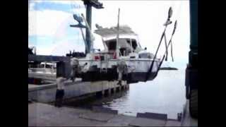 Sea Trial of a 1987 30' Gemini Catamaran - Suenos Azules Marine Surveying and Consulting