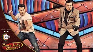 Salman Khan In Dance India Dance