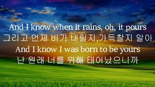 Born To Be Yours-Kygo, Imagine Dragons가사번역