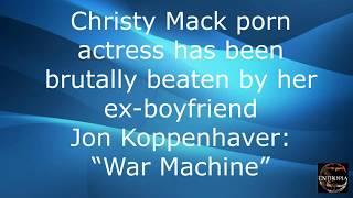 """►►► CHRISTY MACK porn actress has been BRUTALLY beaten by """"WAR MACHINE"""""""