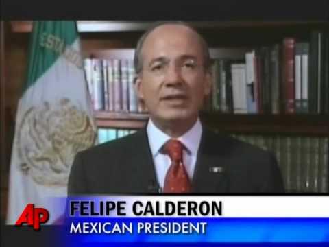 Calderon Asks Mexicans to Back Drug War