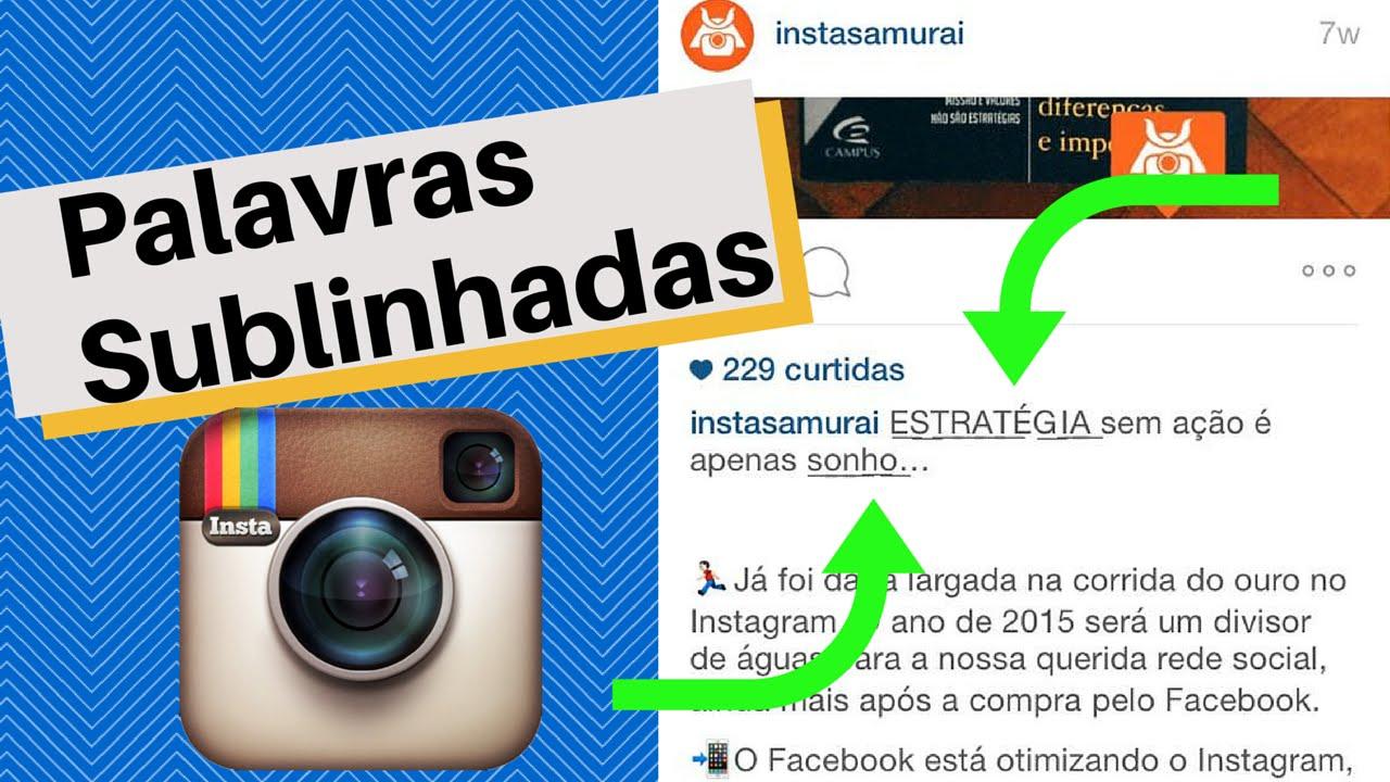 Legenda No Instagram Aprenda A Formatar Seja No Android Ou