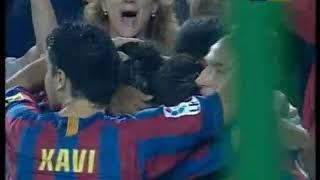 Season 2005/2006. Todos los goles del FC Barcelona