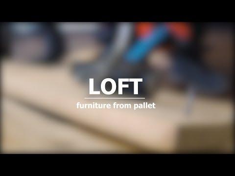 Мебель из поддонов своими руками.