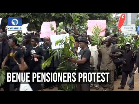 Benue Pensioners Protest Over 25 Months Arrears
