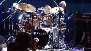 SBB - drum solo - J.Piotrowski & Apostolis Anthimos Siemianowice Śląskie 03.03.2015 - Park Tradycji