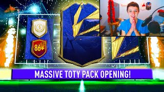 So I opened the 83+ x25 pack & 85+ x5 pack during TOTY!!! | FIFA 21 TOTY PACK OPENING