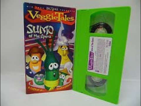 Opening to Veggie Tales Sumo of the opera 2004 VHS (Sony Wonder)