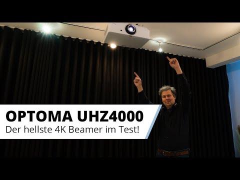 OPTOMA UHZ4000 - Der hellste 4K HDR Beamer fürs Wohnzimmer im ausführlichen Test