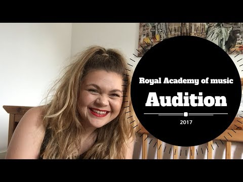 Royal Academy of  Audition experience