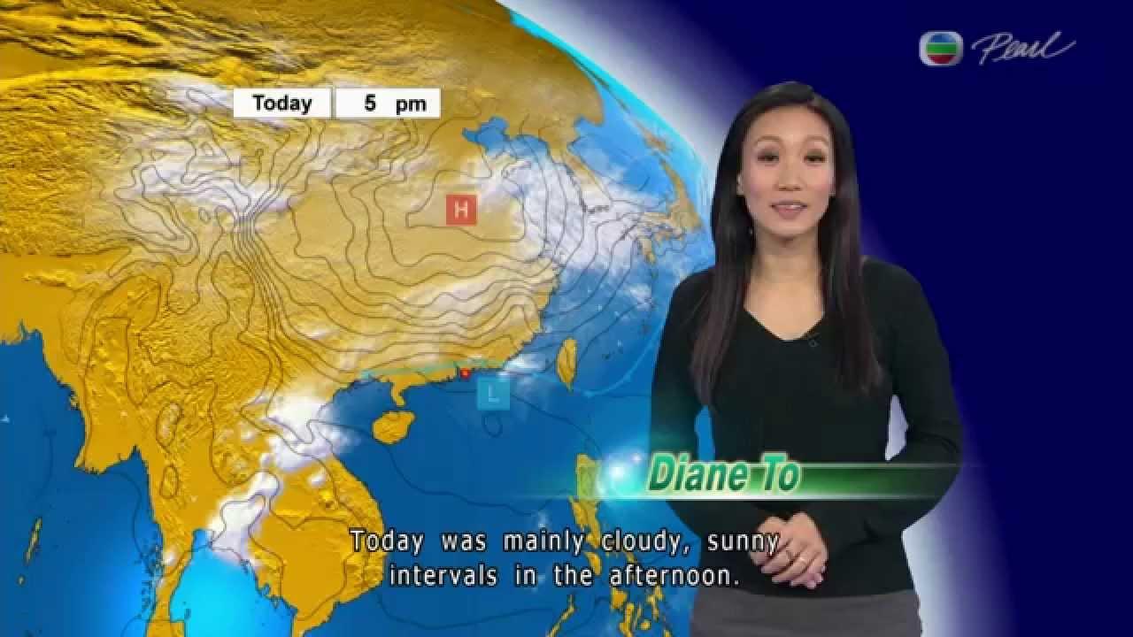 天氣報告 ( Diane To ) 2015年4月7日 - YouTube