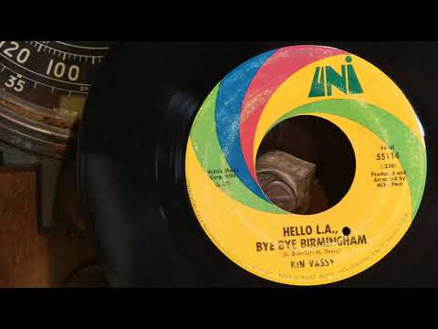Kin Vassy - Hello L A , Bye Bye Birmingham ... 1969