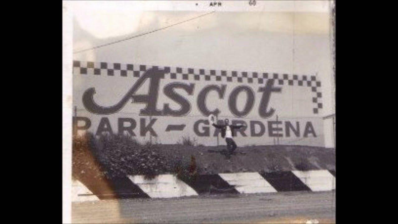 Ascot Park Gardena Ca. 1960's Figure Eight Racing # 2 By