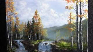 Paint with Kevin Hill - Birch Waterfalls