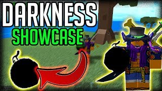 YAMI YAMI SHOWCASE | One Piece Millenium | ROBLOX | Darkness Devilfruit Showcase