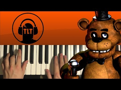 How To Play - Five Nights At Freddy's 1 Song - by The Living Tombstone (PIANO TUTORIAL LESSON)