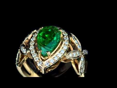 Ювелирные украшения с бриллиантами на 8 марта - Интернет магазин Kr8tiv.RU