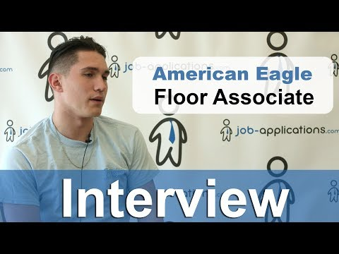American Eagle Interview -  Floor Associate