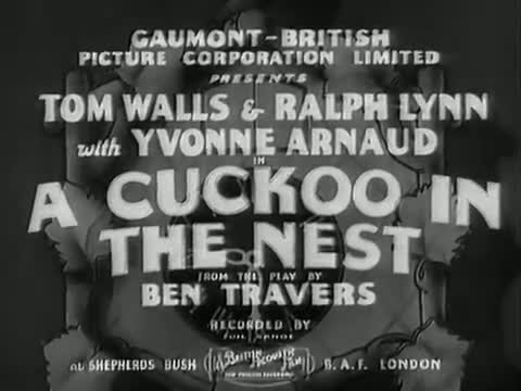 A Cuckoo In The Nest [1933]