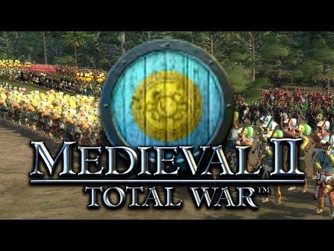 AZTECAS vs ELEFANTES | MEDIEVAL 2 TOTAL WAR