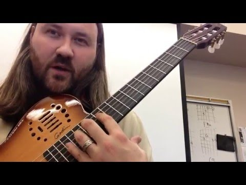 Segovia Scales part 3: G Major in 3 octaves for classical guitar