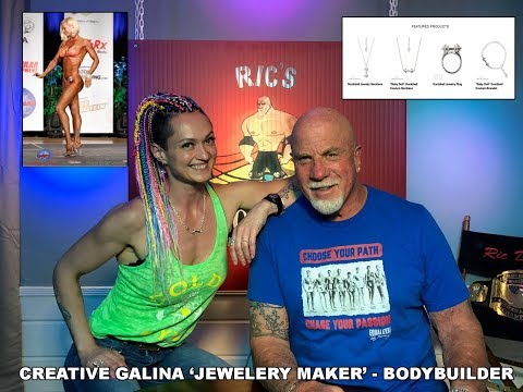 Creative Galina Jewelry Maker Bodybuilder Fitness Model Artist
