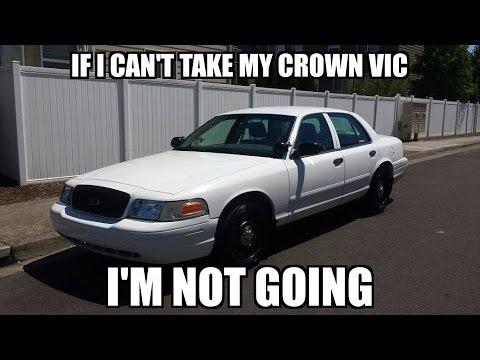 Ford Crown Victoria Police Interceptor >> Top 10 Ford Crown Vic MEMES 2 Police Interceptors - YouTube